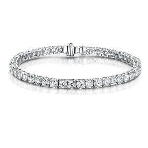 Sparkling small round cut 5.00 carats diamonds Ten